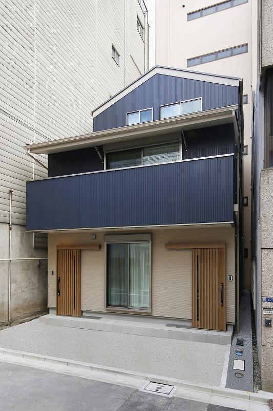 都心に完全分離型 二世帯住宅 【台東区浅草】